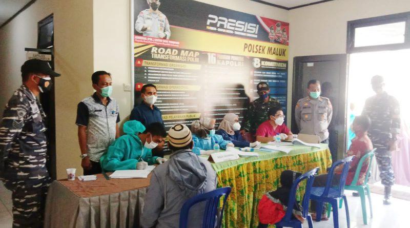 Sebanyak 900 Warga Ikut Vaksinasi Presisi Polri di Wilayah Hukum Polres KSB